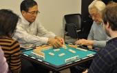 японские мастера играют в риичи